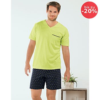 Schiesser Single-Jersey Herren-Shorty