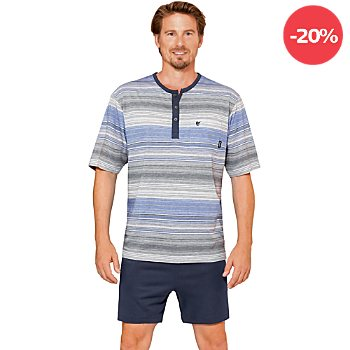 Hajo Single-Jersey Herren-Shorty