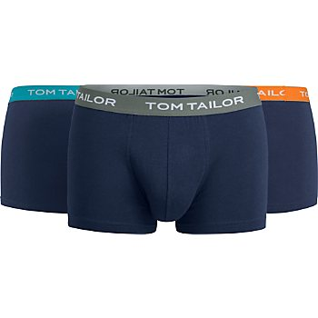 Tom Tailor Single-Jersey Herren-Pants im 3er-Pack