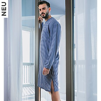 Ammann Extra Light Cotton Single-Jersey Herren-Nachthemd