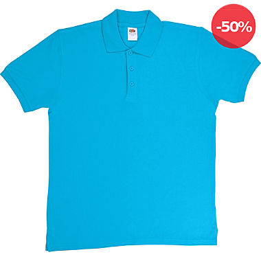 Fruit of the Loom Piqué Unisex-Poloshirt