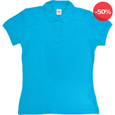 Fruit of the Loom Damen-Poloshirt