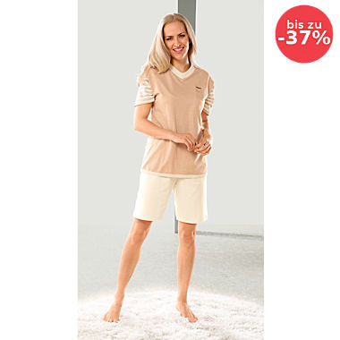 G?tting Single-Jersey Damen-Shorty naturbelassen