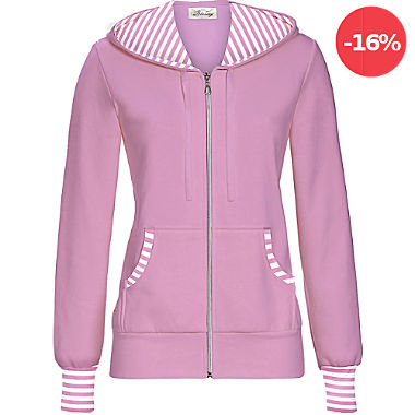 Bloomy by Ringella Mix & Match Sweat Damen-Freizeitjacke