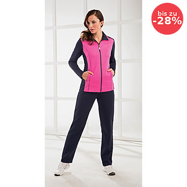 Athlet Interlock-Jersey Damen-Freizeitanzug