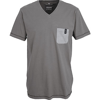 Tom Tailor Mix & Match Single-Jersey Herren-T-Shirt