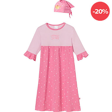 Schiesser Single-Jersey Kinder-Nachthemd