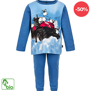 Me too Single-Jersey Bio Kinder-Schlafanzug