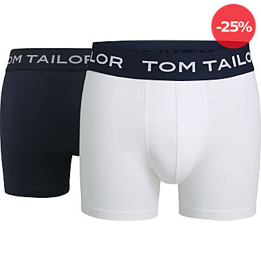 Tom Tailor Single-Jersey Herren-Pants im 2er-Pack