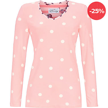 Bloomy by Ringella Mix & Match Single-Jersey Damen-Langarmshirt