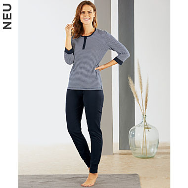ESPRIT Single-Jersey Damen-Schlafanzug