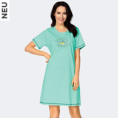 Comtessa Single-Jersey Damen-Nachthemd