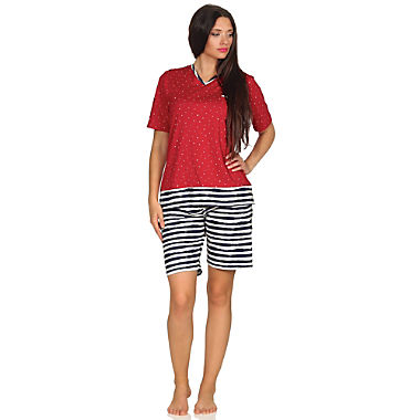 Normann Single-Jersey Damen-Shorty