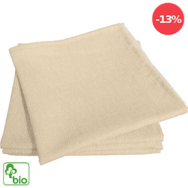 Adam Bio Serviette im 4er-Pack