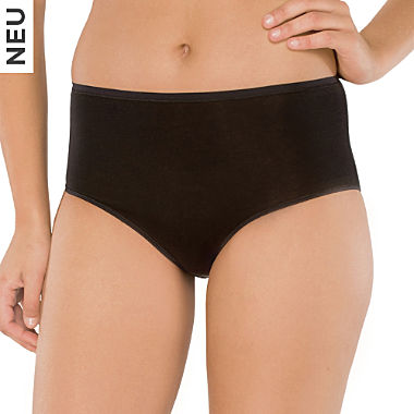 Schiesser Single-Jersey Damen-Taillenslip
