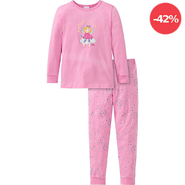 Schiesser Single-Jersey Kinder-Schlafanzug