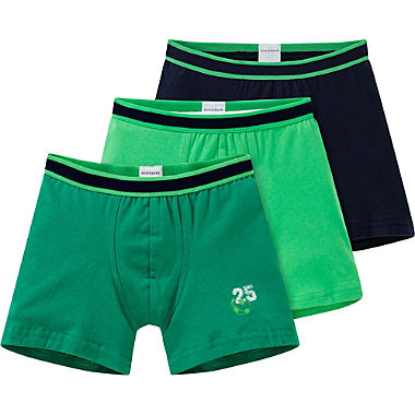 Schiesser Single-Jersey Jungen-Pants im 3er-Pack