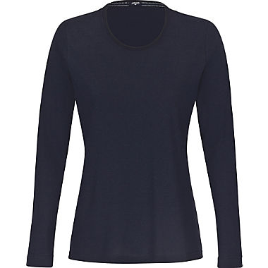 Ammann Mix & Match Single-Jersey Damen-Langarmshirt
