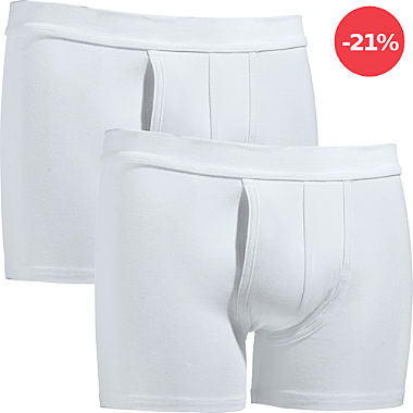 Erwin Müller Single-Jersey Herren-Pants im 2er-Pack