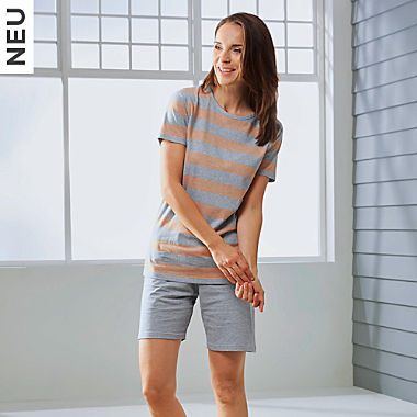 REDBEST Single-Jersey Damen-Shorty