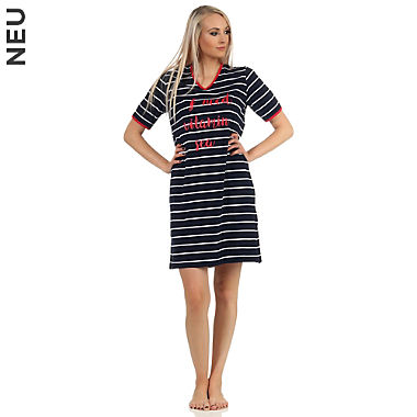 Normann Single-Jersey Damen-Nachthemd