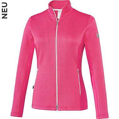 Joy Interlock-Jersey Damen-Freizeitjacke