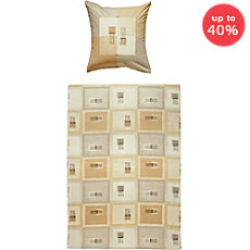 Dyckhoff soft terry duvet cover set