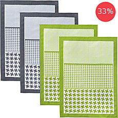 Pack of 4 Erwin Müller dish towels
