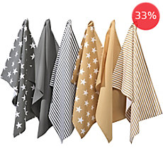 REDBEST 6-pack tea towels