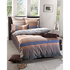 Biberna winter seersucker duvet cover set