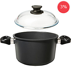 Gepolana induction cooking pot with lid