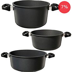 Gepolana induction cooking post set, 3-parts