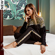 Chérie Line single jersey women´s pyjamas