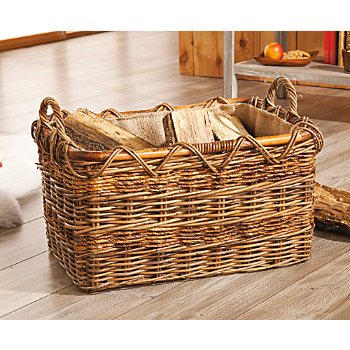 Log holder basket