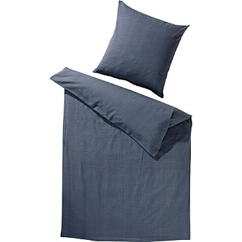 Erwin Müller luxury seersucker duvet cover set
