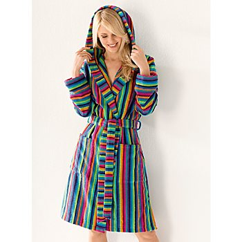 Cawö hooded bathrobe