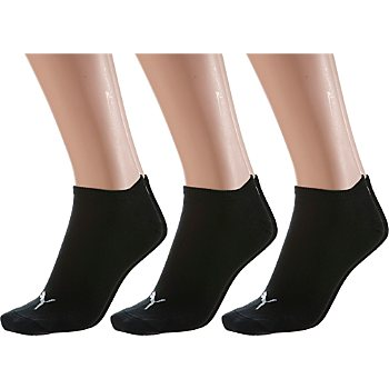 Pack of 3 Puma sneaker socks