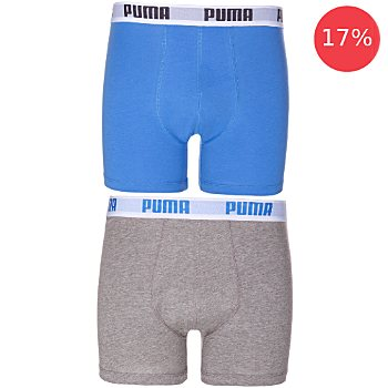 Puma Bodywear  2-pack men's boxer briefs
