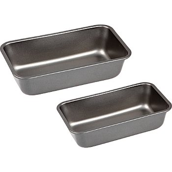 Pack of 2 loaf pans