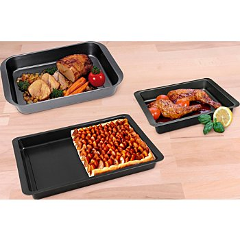 Roasting pan set, 3-parts