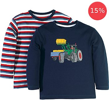 Pack of 2 Erwin Müller long sleeve T-shirts