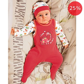 Baby Butt 3-pc clothing set