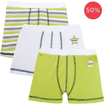 Erwin Müller 3-pack boys boxer briefs