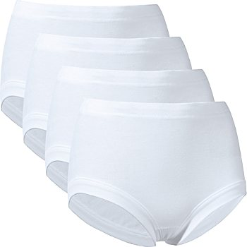 Schiesser  4-pack women's boil-proof full briefs