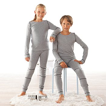 Erwin Müller  2-pack kids thermal underwear bottoms