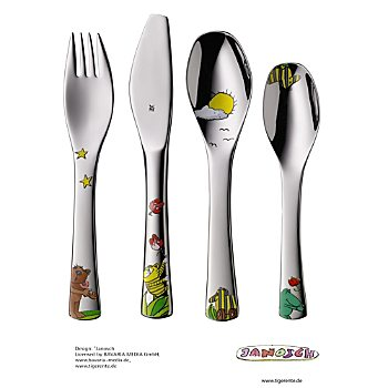 WMF 4-piece children's cutlery set