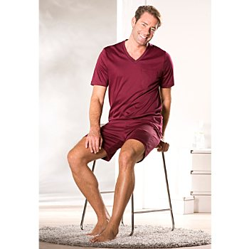 Novila interlock jersey men´s short pyjamas