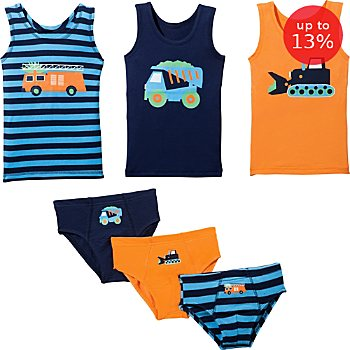 Erwin Müller  6-piece boys underwear set