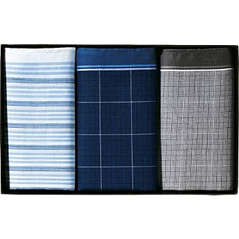 Lindenmann  3-pack men´s handkerchiefs