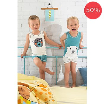 Erwin Müller 2-pack kids underwear vests